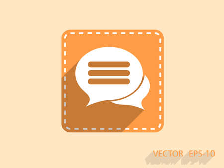 chat icon: chatting icon