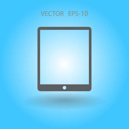 touchpad: Flat icon of touchpad