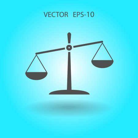 punishing: Flat  icon of Justice