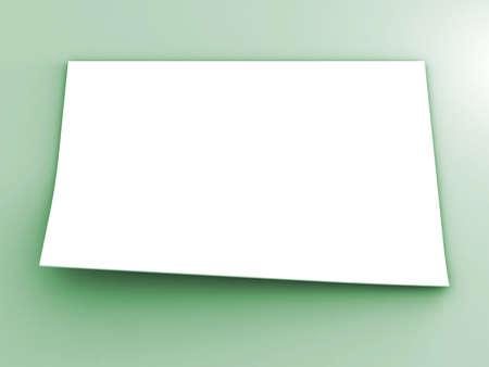 white sheet: white sheet of paper