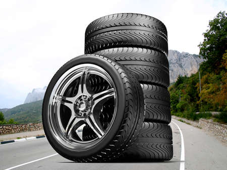 pneumatic tyres: Wheels