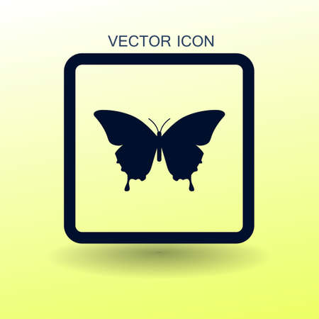 Butterfly Framed Vector Illustration Royalty Free Cliparts, Vectors ...