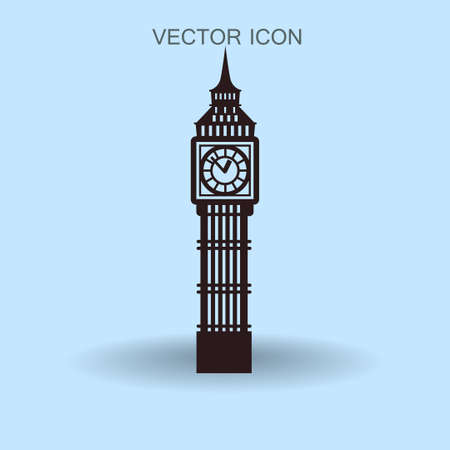 Big Ben London vector illustration