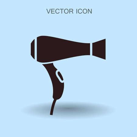 hairdryer: hairdryer icon vector illustration
