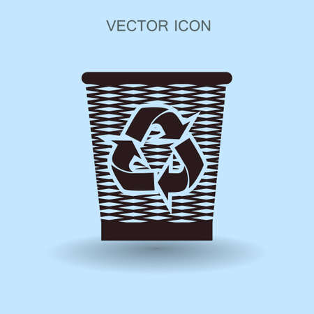 environmentalist: Bin vector icon