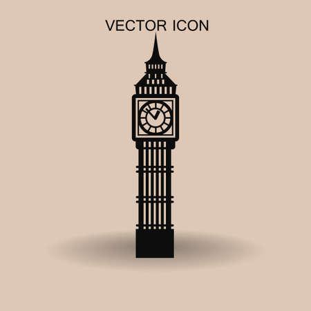 houses of parliament london: Big Ben London vector illustration