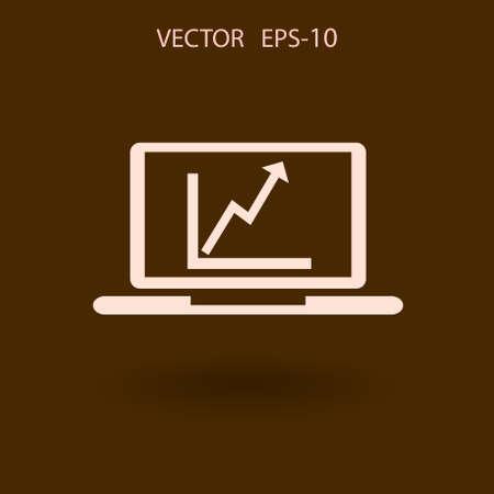 copy machine: SEO icon. vector illustration