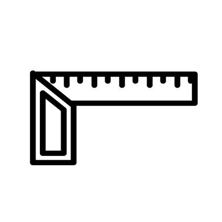 Square tool icon, isolated on white background.