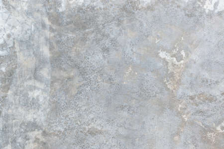 Concrete cement wall texture background in white grey with grunge weathered rough cracked pattern wallpaper