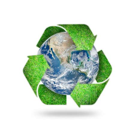 Sauvez l'environnement mondial, le jour de la terre, la campagne de sensibilisation à la protection des économies d'énergie, le concept RSE