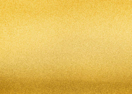 Gold foil leaf shiny wrapping paper texture background for wall paper decoration element