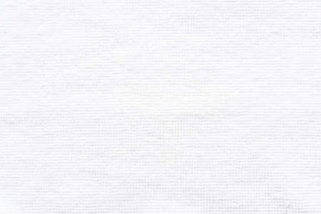 White beach towel texture background or cloth rug made of cotton material