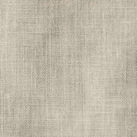 Hessian sackcloth woven texture pattern background in light sepia cream beige brown color