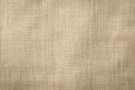 Hessian sackcloth woven texture pattern background in beige cream brown color 版權商用圖片