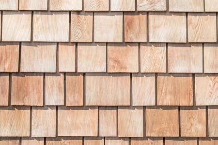 Schindel aus rotem Zedernholz Shake Wood Abstellgleis Reihendachplatte aus Lärchen-Nadelbaum