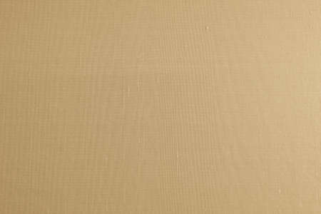 Blended cotton silk fabric wallpaper texture pattern background in light yellow gold beige brown