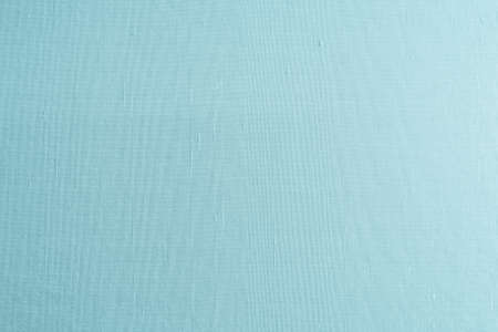 Blended cotton silk fabric wallpaper texture pattern background in light cyan tuquoise blue green color Stock fotó