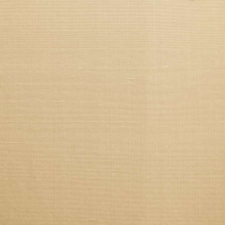 Fine natural cotton silk blended fabric wallpaper texture textile pattern background in light yellow gold brown