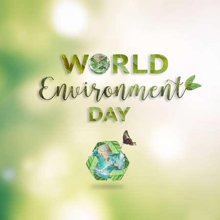 World environment day. Reklamní fotografie