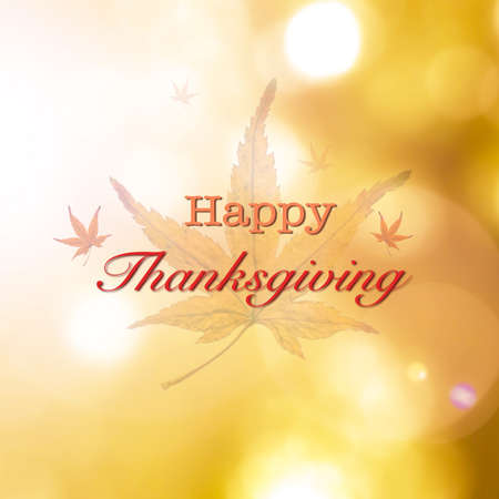 Happy thanksgiving day holiday greeting illustration
