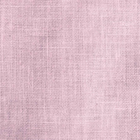 Hessian sackcloth woven texture pattern background in light sweet antique purple pink color 版權商用圖片