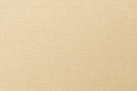 Hessischer Sackleinen gewebter Texturmusterhintergrund in hellgelbem Cremebraun