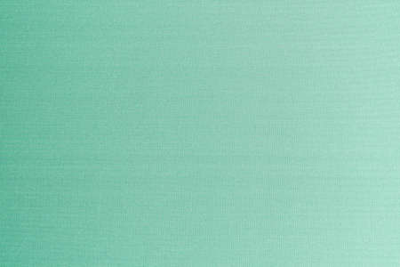 Cotton silk blended fabric wallpaper texture pattern background in light pale pastel green color