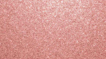 Texture de paillettes d'or rose fond de papier d'emballage brillant rouge étincelant pour la décoration de papier peint saisonnier de vacances de Noël, élément de conception de carte d'invitation de voeux et de mariage