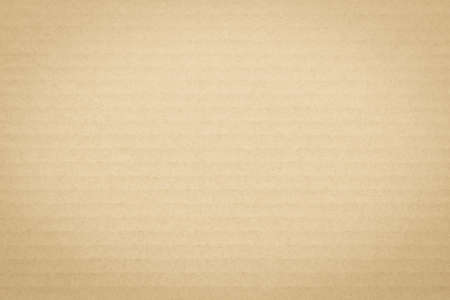 Light yellow brown cream color corrugated cardboard paper texture patterned background 版權商用圖片