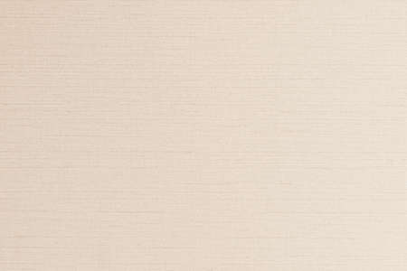 Cotton silk fabric wallpaper texture pattern background in light pastel sepia cream brown color tone Stok Fotoğraf