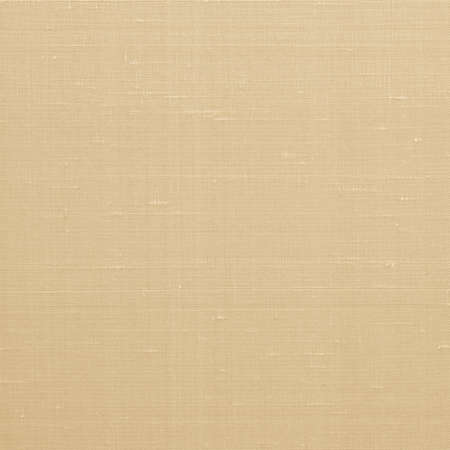 Fine natural cotton silk fabric wallpaper texture pattern background in light old yellow gold color tone