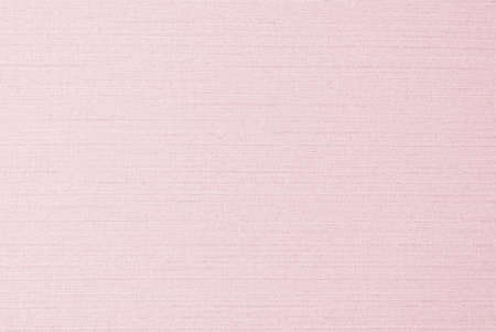 Cotton silk fabric wallpaper texture pattern background in light pastel sweet pale pink color tone Stok Fotoğraf