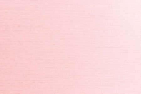 Fine natural cotton silk fabric wallpaper texture pattern background in light pastel old pink rose color tone