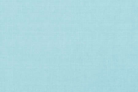 Cotton silk blended fabric wallpaper texture pattern background in pastel blue mint color