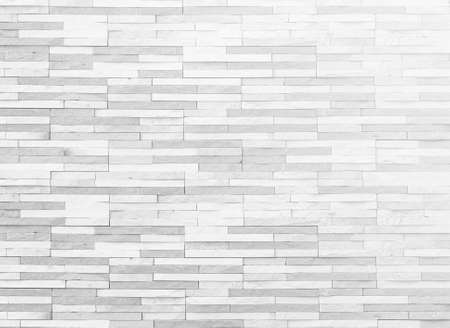 Brick tile wall texture pattern background in white grey color