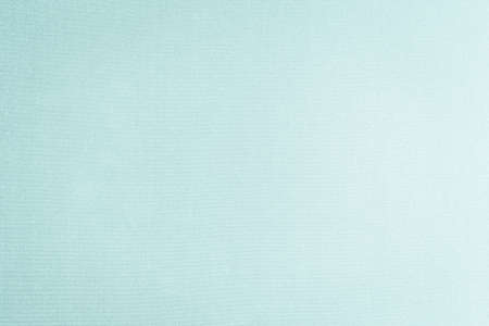 Cotton silk blended fabric wall paper texture pattern background in pastel white pale green cyan turquoise blue color