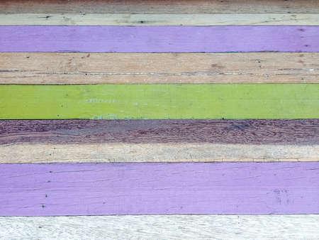 Painted wood texture pattern background in purple green brown color vintage style  版權商用圖片