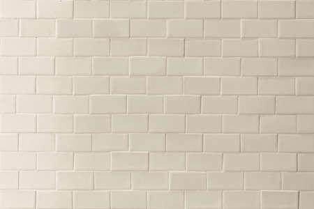 Porcelain tile texture pattern detail wall background white sepia cream beige color