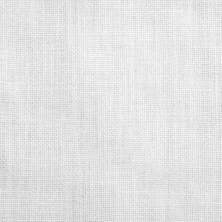Hessian sackcloth woven fabric texture background light white grey color