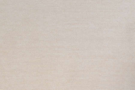 Cotton silk fabric wallpaper texture pattern background in light pastel beige cream brown color tone