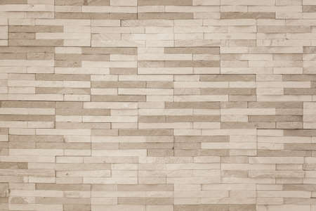 Brick tile wall pattern background in sepia brown Zdjęcie Seryjne