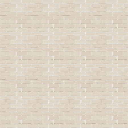 Seamless design vintage style beige cream tone brick wall detailed pattern textured background