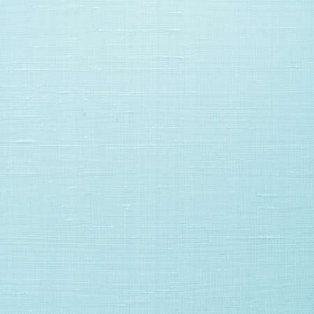 Fine natural cotton silk fabric wallpaper texture pattern background in light pastel cyan blue color tone