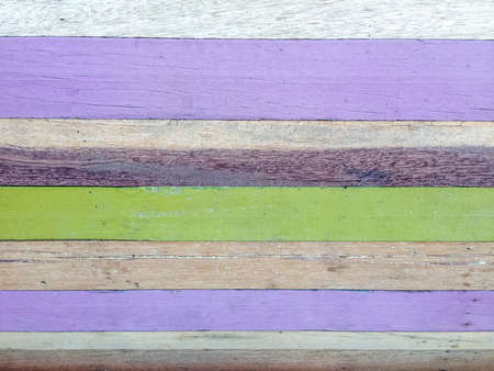 Painted wood texture pattern background in purple green brown color vintage style  Zdjęcie Seryjne