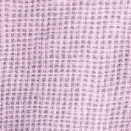 Hessian sackcloth woven texture pattern background in light sweet antique purple pink color Zdjęcie Seryjne
