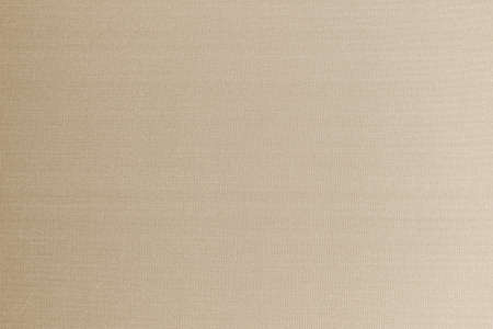 Cotton silk fabric wallpaper texture pattern background in light pastel sepia tan cream brown color tone