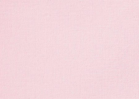 Pink canvas burlap fabric texture background for arts painting in light sweet pale old rose pastel color Reklamní fotografie - 142029999