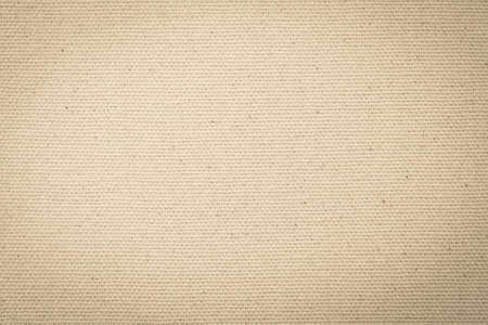Hessian sackcloth woven texture pattern background in light yellow cream brown Reklamní fotografie - 142030009