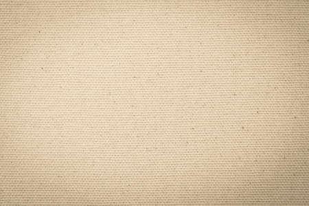 Hessian sackcloth woven texture pattern background in light yellow cream brown Reklamní fotografie
