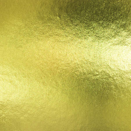 Gold foil leaf metallic wrapping paper texture background for wall paper decoration element